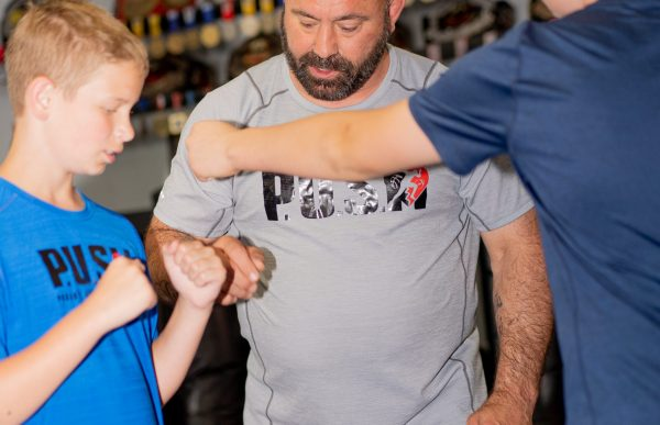 Martial Arts Instructor Ed Carr with Eddie S